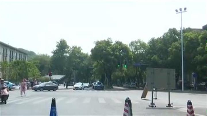 周末湖南大学周边部分路段交通管制  交警提醒:尽量选择公共交通工具出行