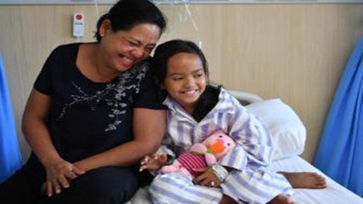 """""""爱心行""""项目为柬埔寨先心病患儿带来希望"""
