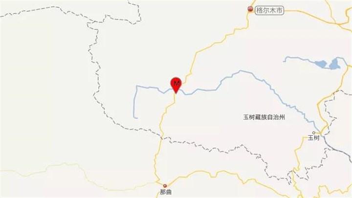 青海海西州唐古拉地区发生3.2级地震