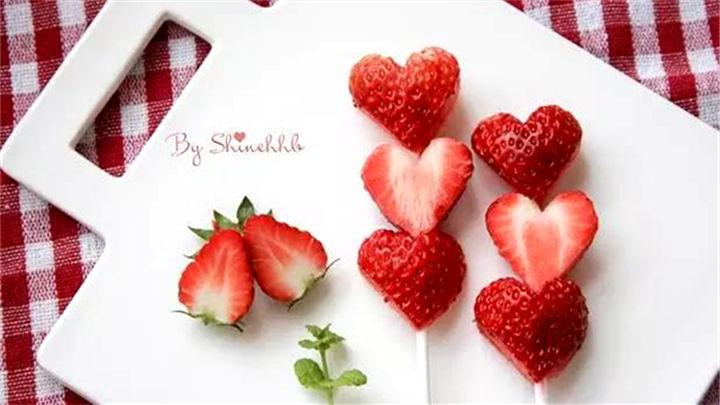 情人节水果的做法 你一定不知道!