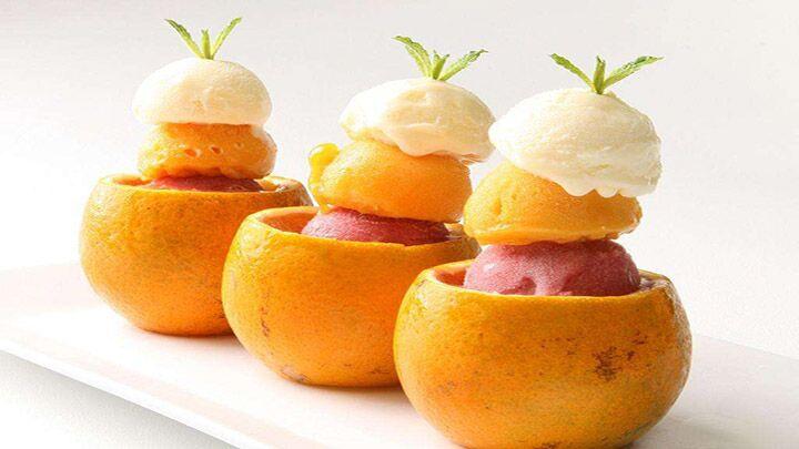 吃不完的水果 做成冰激凌吧