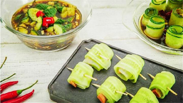 夏日最有新意的黄瓜吃法,第二种好吃到跪!