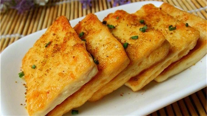 孜然豆腐|简单的新疆烧烤风味小食