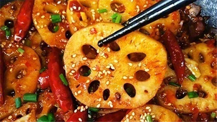 麻辣藕片|最下饭的藕片做法