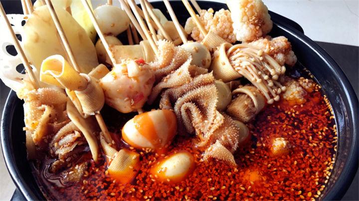 麻辣串串|在家就能吃麻辣鲜香的串串啦!