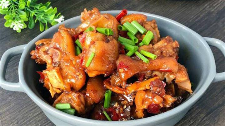 香辣猪蹄|最销魂的猪蹄吃法