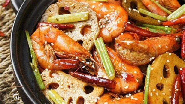 干锅虾|下饭神器!做多少你就吃得下多少