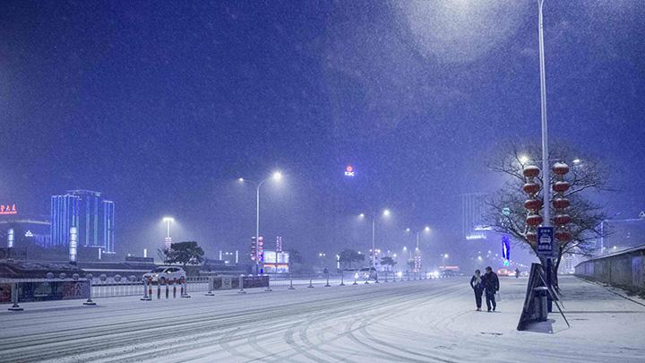 8日为主要降雪时段 长沙城区难见纯雪