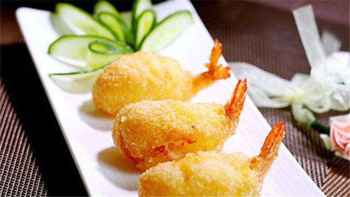 黄金虾球|外酥里嫩,上桌抢着吃!