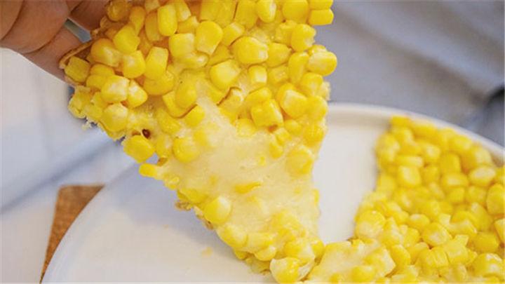 香脆玉米烙|金黄酥脆,还可拉丝!