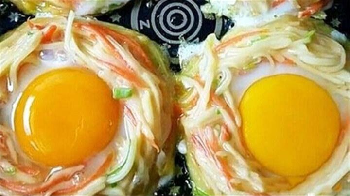 太阳蛋|营养又好看!赶紧给家人做吧