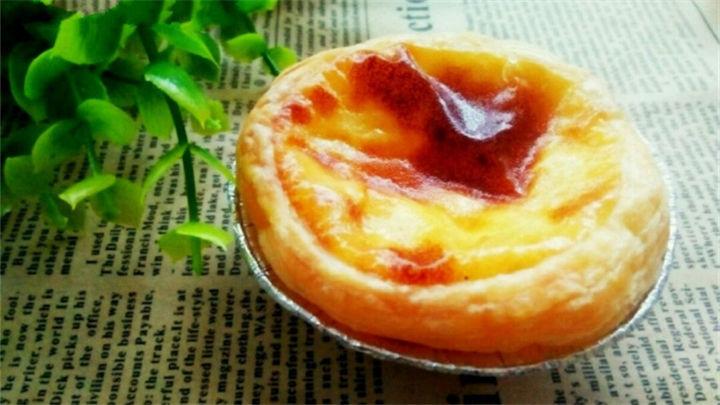 快手甜品——葡式蛋挞的做法!