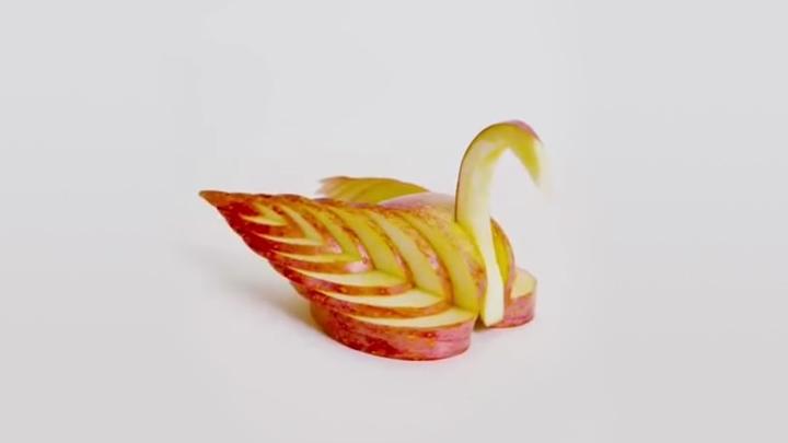 水果的高能吃法|水果这样切,美炸了!