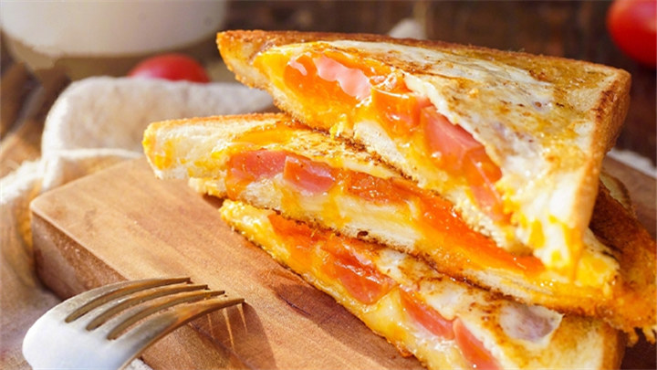 面包三明治|超简单快手早餐