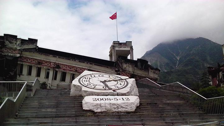汶川十年 | 航拍地震遗址 看新城涅槃重生