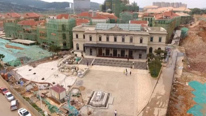 华谊兄弟电影小镇9月28日开园 目前整体施工已完成90%
