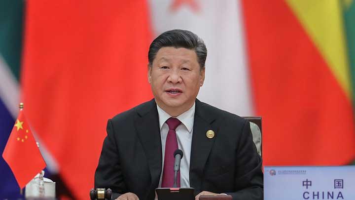 北京峰会举行圆桌会议 习近平主持通过北京宣言和北京行动计划