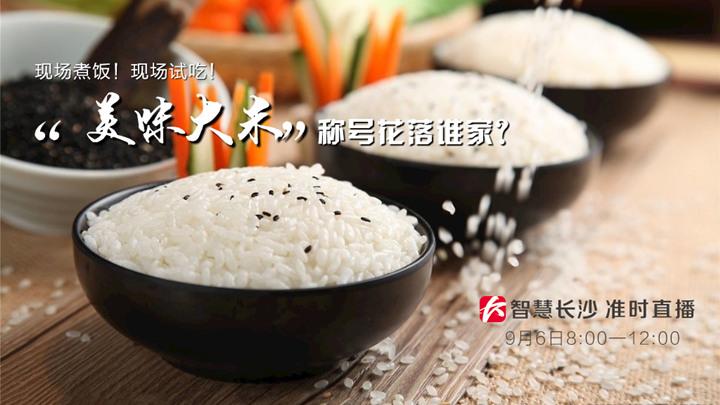 """直播回看:现场煮饭!现场试吃!湖南""""美味大米""""称号花落谁家?"""