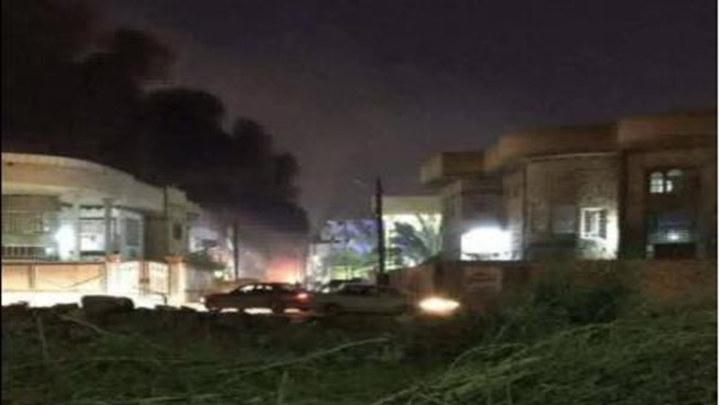 伊拉克传来爆炸声 美国大使馆遭多枚迫击炮弹袭击