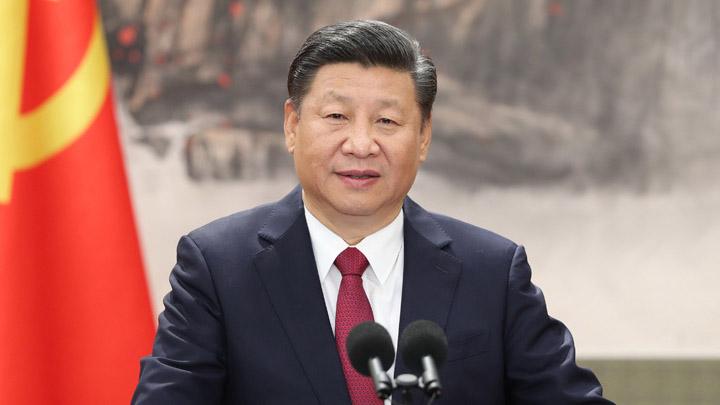 习近平就朝鲜国庆70周年向朝鲜最高领导人金正恩致贺电
