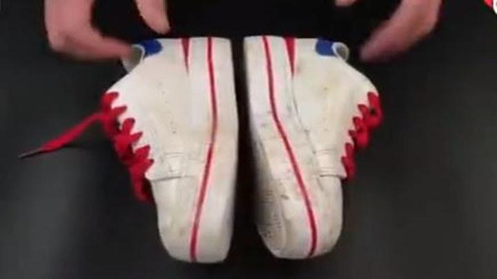 史上最强小白鞋清洗妙招,三分钟焕然一新~