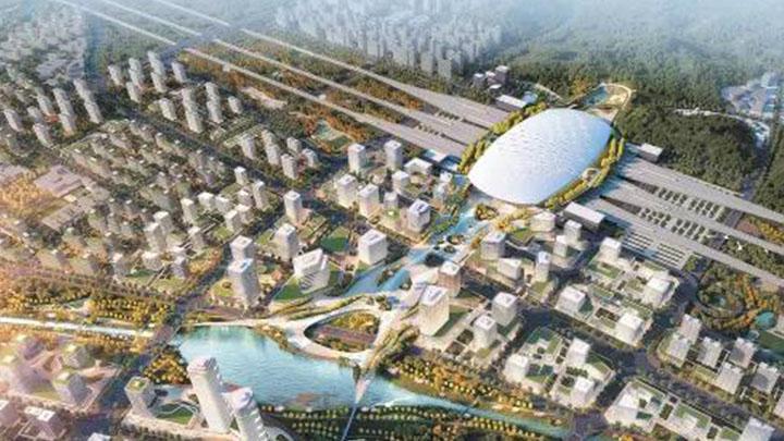 重磅!长沙高铁西城建设启动,站场规模12台22线,4条轨道交通贯穿全城