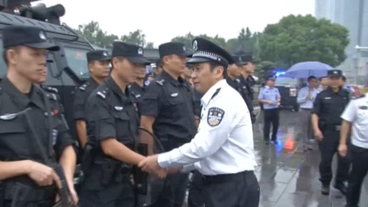 省市领导检查安保维稳工作 百日会战 确保长沙祥和平安