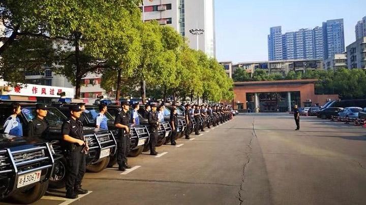 长沙警方实行最高等级勤务 力保国庆假期社会治安平稳有序