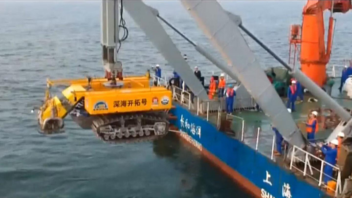 """湖南院校牵头完成""""蛟龙探海""""两课题实验"""