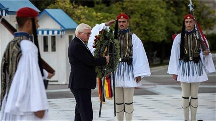德国总统到访 希腊追讨3800多亿美元战争赔偿