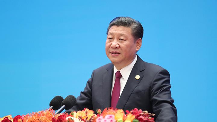 """习近平:国际社会广泛欢迎共建""""一带一路"""""""