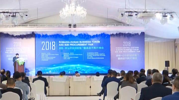 首届中国国际进口博览会丨湖南—中东欧经贸推介暨商品采购对接会举行