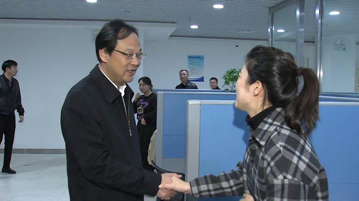 记者节:高山走访慰问全市新闻工作者