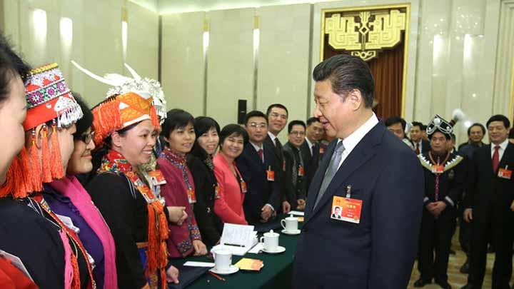 以习近平同志为核心的党中央关心广西发展纪实
