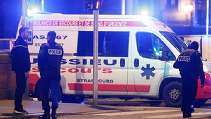 法国斯特拉斯堡市枪击案致4死 警方称已知枪手身份