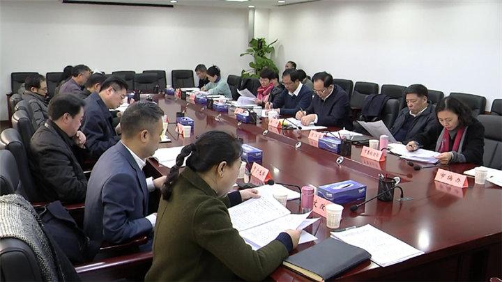 市领导主持召开市文化体制改革专项小组会议