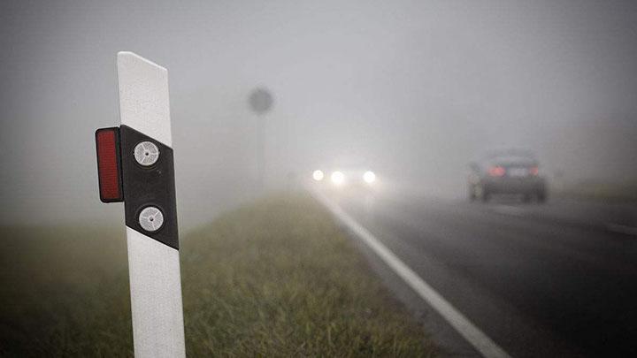 因起雾湖南境内25个高速收费站已管制 车辆只出不进