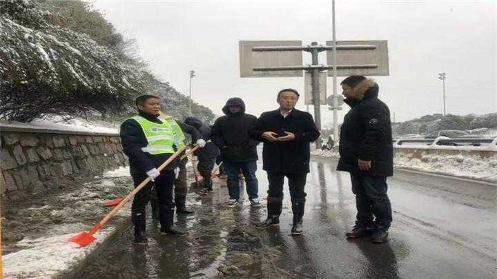 应急联动战雨雪,众志成城保畅通