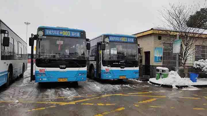 【出行信息】望城区公交今天基本恢复正常。