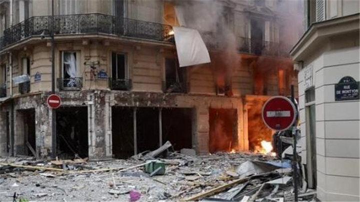 巴黎市中心严重爆炸事故已致20伤 暂无中国公民伤亡
