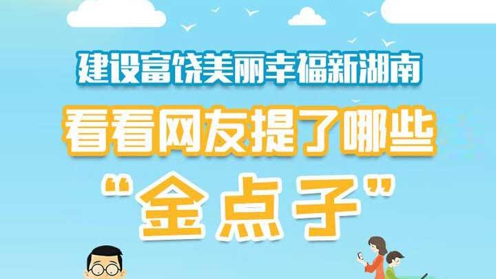 """一图读懂丨哪些""""金点子""""能直通湖南省政府"""