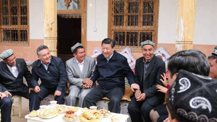 总书记的深情牵挂,新疆疏附县阿亚格曼干村的精准脱贫故事