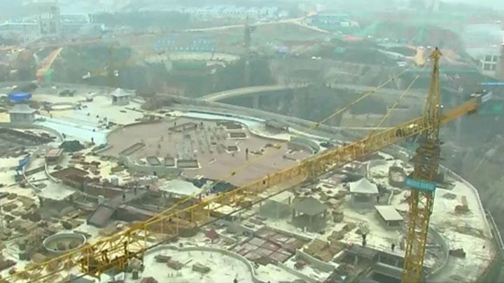 产业项目建设年丨湘江欢乐城:春节假期不停工 保质保量保进度