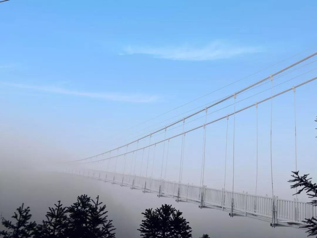 春节必火,浏阳首座5D高空全透明玻璃桥景区震撼来袭!