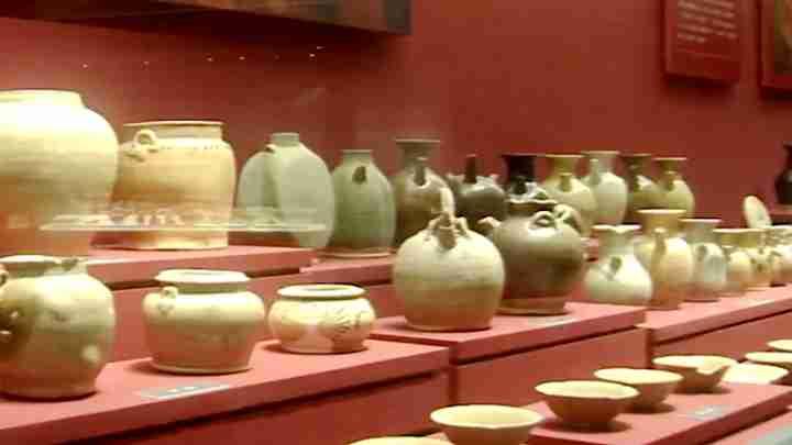 长沙博物馆巡礼 千年窑火绵延不绝