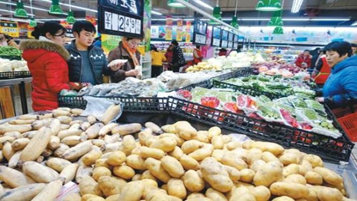 """""""吃""""""""戴""""火爆 省商务厅发布初一全省消费品市场数据"""