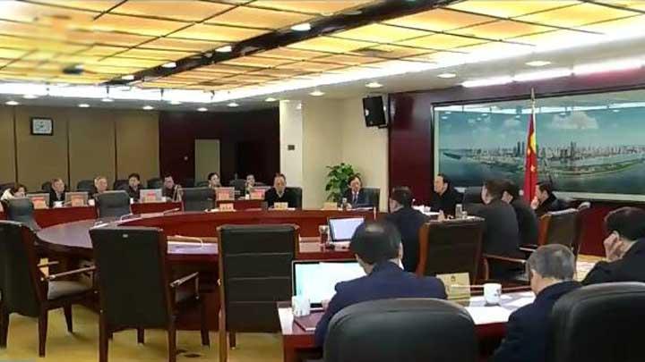 市十五届人大常委会举行第36次主任会议