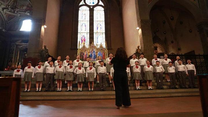 这支童声合唱团招募学员啦!曾在意大利佛罗伦萨国际合唱节折桂!
