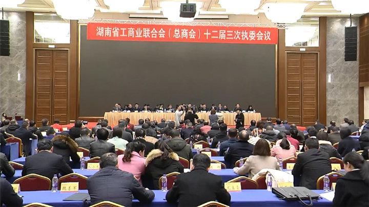 省工商联十二届三次执委会议在长召开