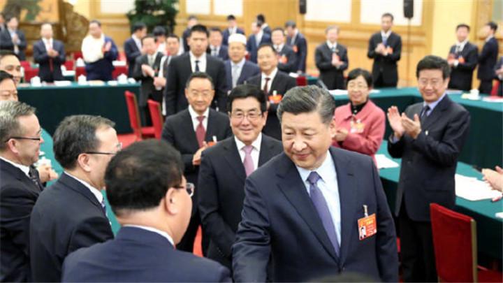 习近平参加甘肃代表团审议